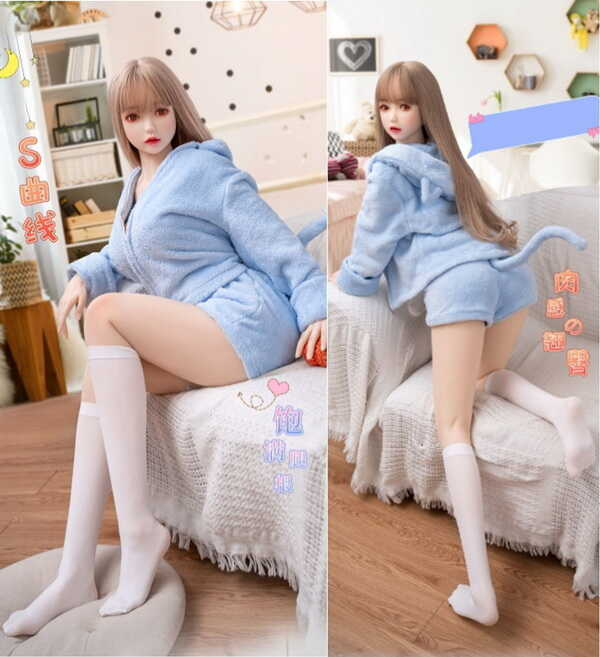Rubber doll DL-008-16